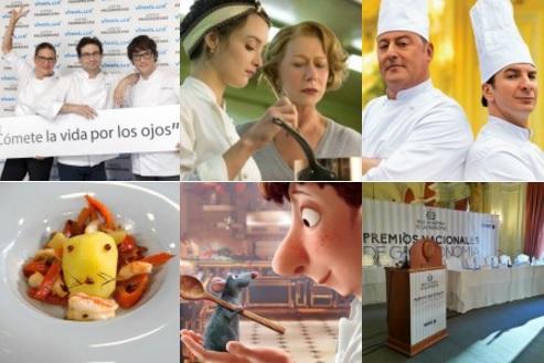 peliculas, series y concursos gastronomia